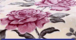 پتو نرمینه گلدار